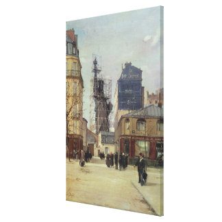 The Statue of Liberty, by Bartholdi Canvas Print