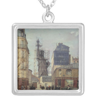 The Statue of Liberty, by Bartholdi Silver Plated Necklace