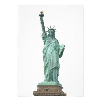 The Statue of Liberty Personalized Invite