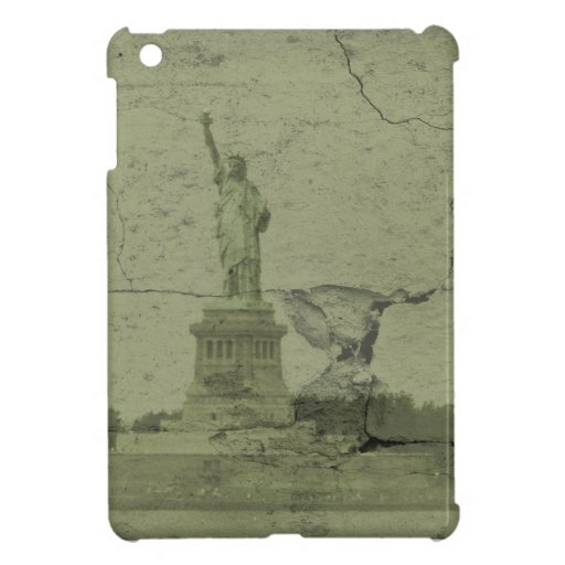 The statue of liberty cover for the iPad mini