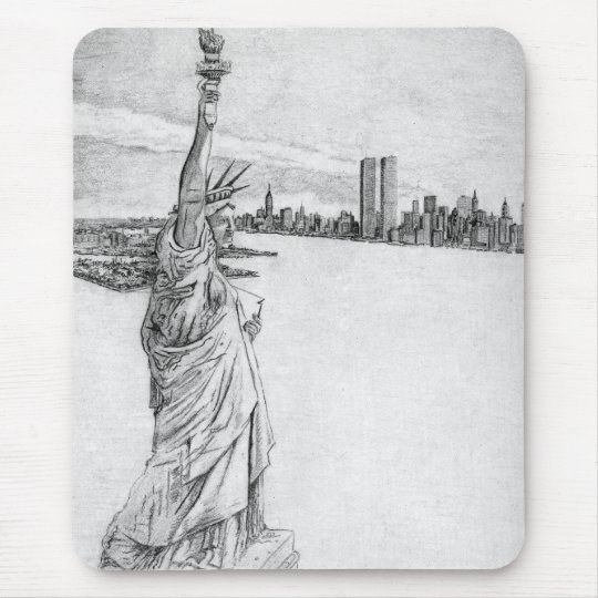 The Statue of Liberty Mouse Mat