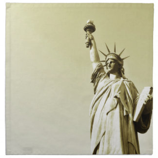 The statue of liberty napkin
