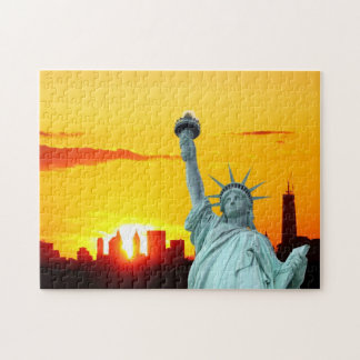The Statue of Liberty, New York City Jigsaw Puzzle