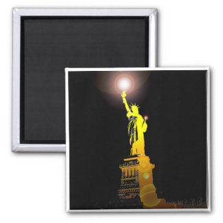 The Statue of Liberty, New York, USA Magnet