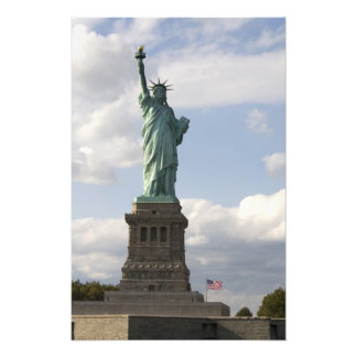 The Statue of Liberty on Liberty Island in New Photographic Print