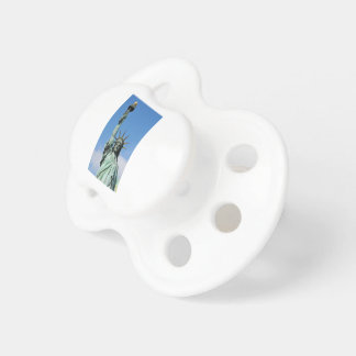 The statue of liberty pacifiers