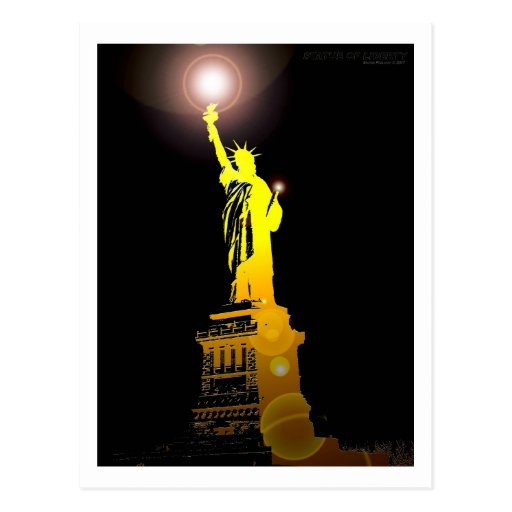 The Statue of Liberty Postcards