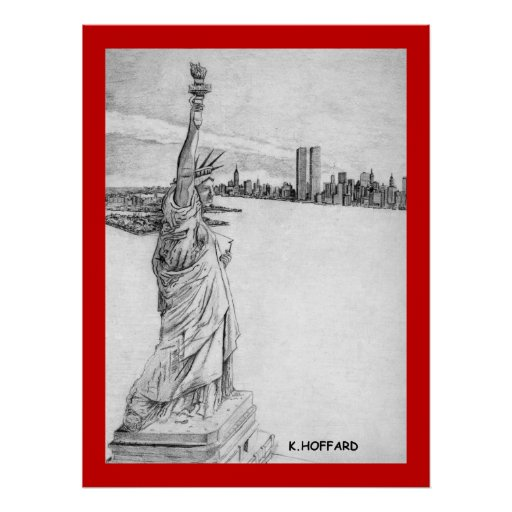 """""""The Statue of Liberty"""" Poster"""