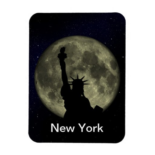 the statue of liberty flexible magnet