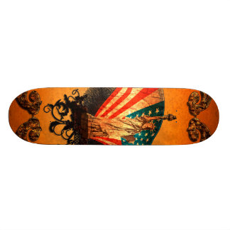 The Statue of Liberty Skate Deck
