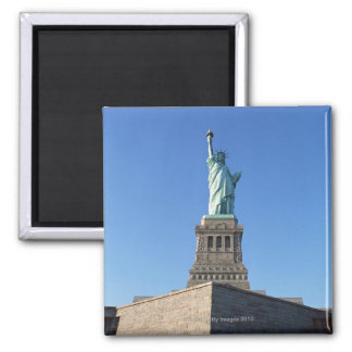 The Statue of Liberty Square Magnet