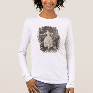 The Stay-lace, engraved by Alfred Leon Lemercier ( Long Sleeve T-Shirt
