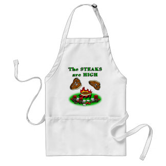 The Steaks Are High Standard Apron
