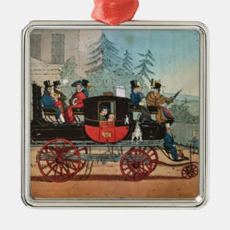 The Steam Coach Christmas Ornament