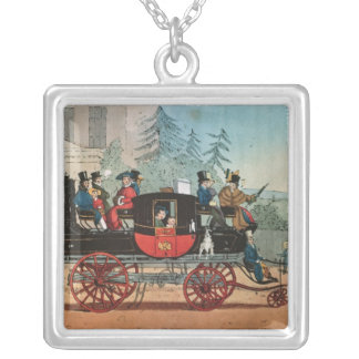The Steam Coach Silver Plated Necklace
