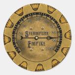 The Steampunk Empire Stickers