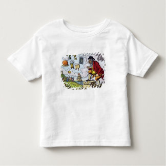 The Stepping Stone,John Bull peeping into Toddler T-Shirt