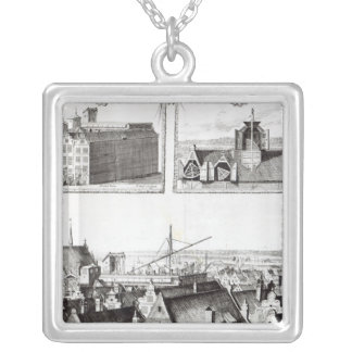 The Sternenburg observatory Silver Plated Necklace