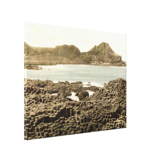 The Steuchans, Giant's Causeway, County Antrim Gallery Wrapped Canvas