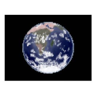 The Still Earth Pixel Postcard