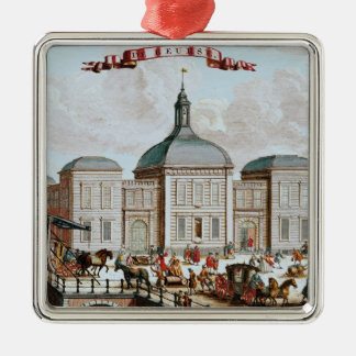 The Stock Exchange, Amsterdam, 1743 Christmas Ornament