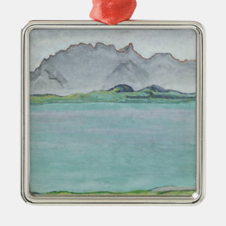 The Stockhorn Mountains and Lake Thun, 1911 Christmas Ornament