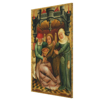 The Stolen Blessing from the High Altar Canvas Print