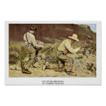 The Stone Breakers By Courbet Gustave Poster