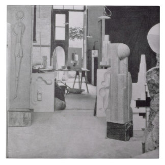 The Stone Carver's Workshop, from the Workshops of Tile
