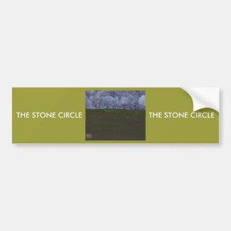 THE STONE CIRCLE BUMPER STICKER