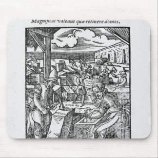 The stone-cutter mouse mat