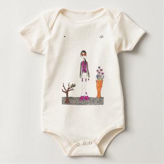 The stone garden baby bodysuit
