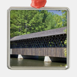 The Stone Mountain Covered Bridge at Stone Christmas Ornament