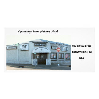 The Stone Pony in Asbury Park NJ Customized Photo Card