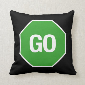 The Stop Go Pillow! Cushion