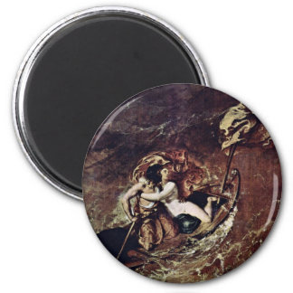 The Storm By Etty William Best Quality Fridge Magnets