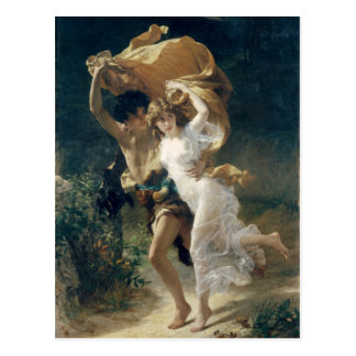 The Storm by Pierre Auguste Cot Postcard