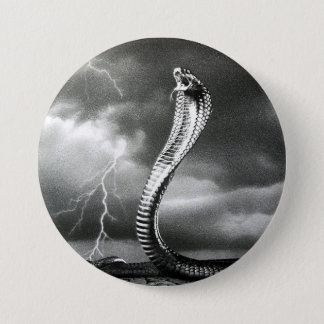 THE STORM IS COMING 7.5 CM ROUND BADGE