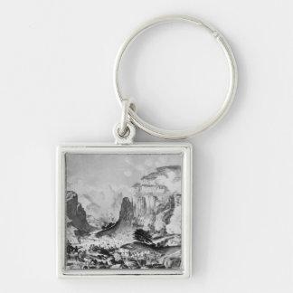 The Storming of Magdala Key Ring
