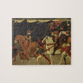 The Story of Alatiel, on Horseback and at a Banque Jigsaw Puzzle
