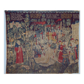 The Story of Jourdain de Blaye, Arras Workshop Poster