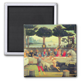 The Story of Nastagio degli Onesti (third episode) Square Magnet