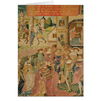 The Story of Perseus, 15th-16th century Greeting Card