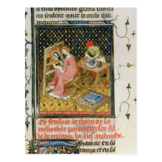 The Story of Thamyris, from `De Claris Postcard