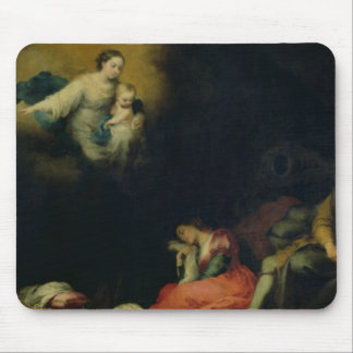 The Story of the Foundation of Santa Maria Maggior Mouse Mat