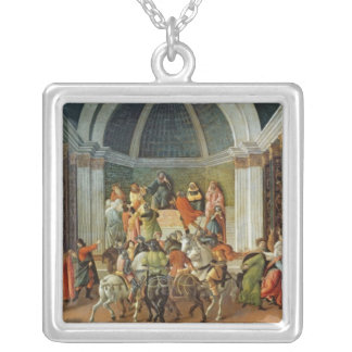 The Story of Virginia, c.1500 Silver Plated Necklace