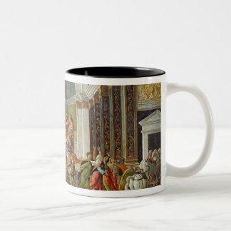 The Story of Virginia, c.1500 Two-Tone Coffee Mug