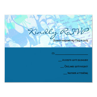 THE STORY WRITER Bar Bat Mitzvah Reply Card 11 Cm X 14 Cm Invitation Card