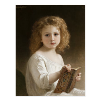 The Storybook - William Bouguereau Postcard