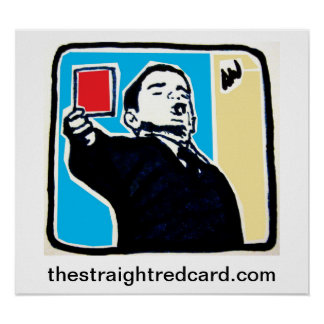 The Straight Red Card Poster
